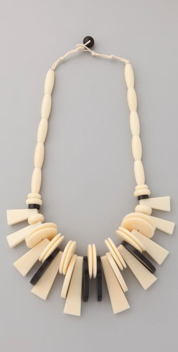 Dannijo Veruschka Bone Necklace