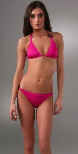 Diane von Furstenberg Love Knot Bikini Top