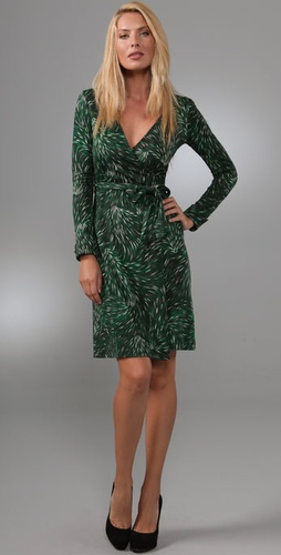 Diane von Furstenberg Jeanne Wrap Dress