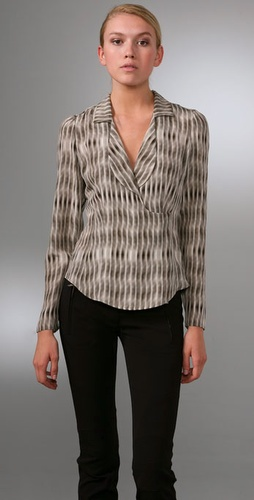 Derek Lam Long Sleeve Blouse