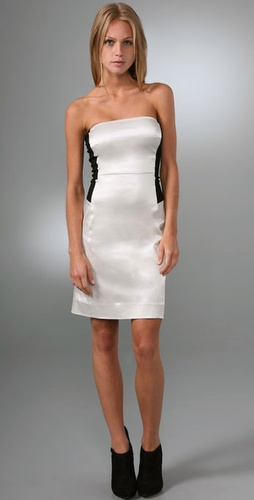 Dkny Strapless Dress