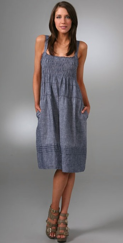 Dkny Pure Dkny Shirred Dress