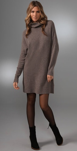Dkny Pure Dkny Turtleneck Sweater Dress