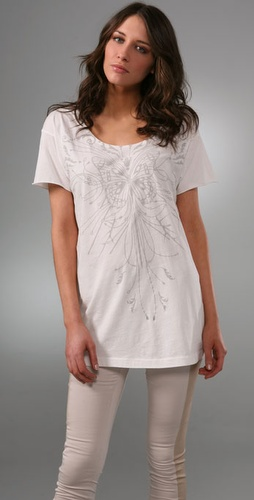 Edun Glide Cloud Oversized Tee