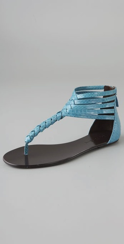 Elizabeth and James Blaze Flat Thong Sandals
