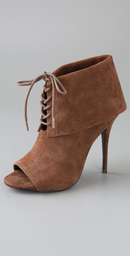 Elizabeth And James Lizzy Suede Cuff Boot