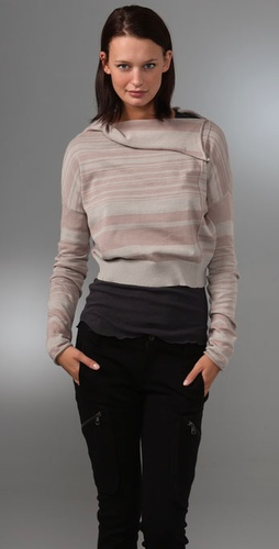Elizabeth And James Lara Cropped Sweater
