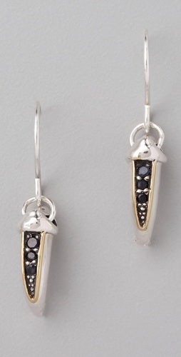 Elizabeth and James Sterling Silver Tiny Talon Earrings