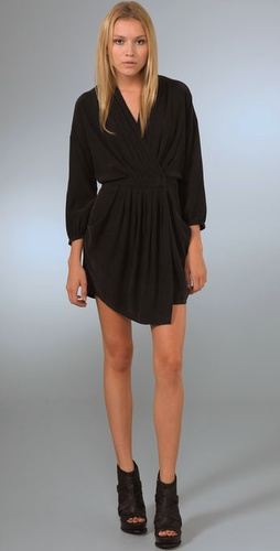 Ever Whitmore Wrap Dress