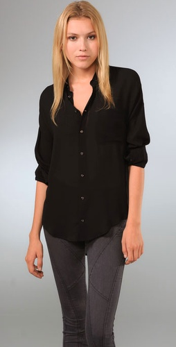 Ever Akron Solid Blouse