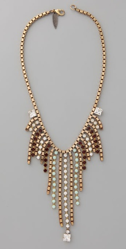 Fallon Jewelry Comet Bib Necklace