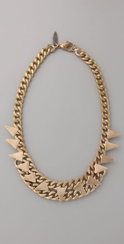 Fallon Jewelry Spear Swag Necklace