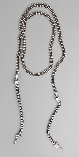 Fallon Jewelry Crystal Lariat Necklace