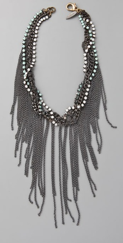 Fallon Jewelry Fringe Choker