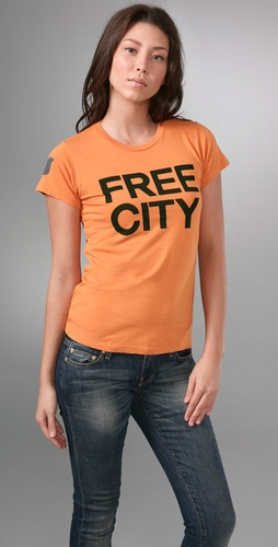 Freecity Freecity Neighborhood Tee With S