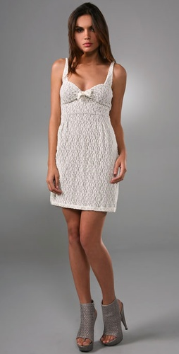 Free People Puckered Daisy Lace Dress