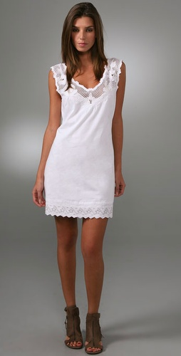 Free People Lace Shift Dress