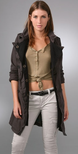 Free People Rugged Trench