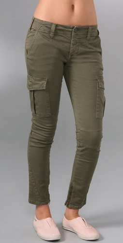 Free People Skinny Military Pants