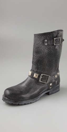Frye Rogan Studded Engineer Boots
