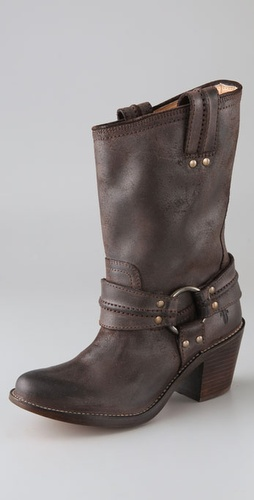 Frye Carmen Harness Short Boots