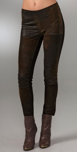 Graham & Spencer Distressed Leather Leggi