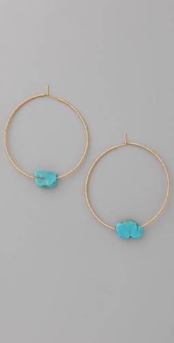 Gara Danielle Turquoise Earrings