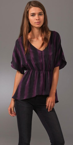 Geren Ford Draped Dolman Top