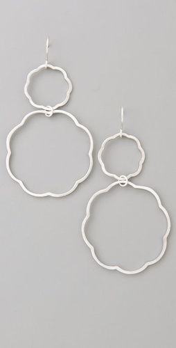 Gorjana Double Scallop Hoops