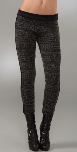 Gryphon Fair Isle Leggings