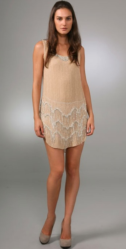 Haute Hippie New Trish Flapper Dress