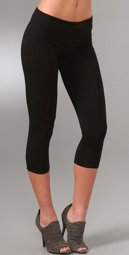 Haute Hippie Cropped Leggings