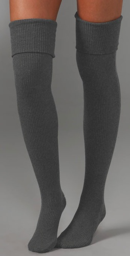 Haute Hippie Deluxe Thigh High Socks