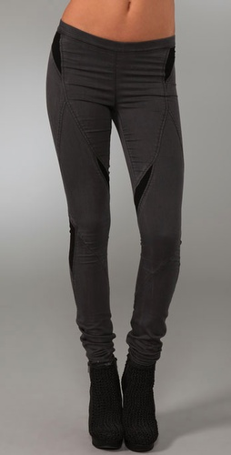 Helmut Lang tall leggings - 37 inseam jeans