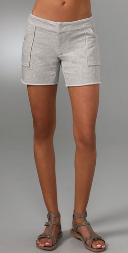 Monrow French Terry Shorts