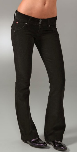 Hudson Corduroy Signature Boot Cut Pants