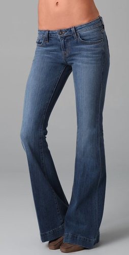 Hudson Woodstock Flap Pocket Flare Jeans