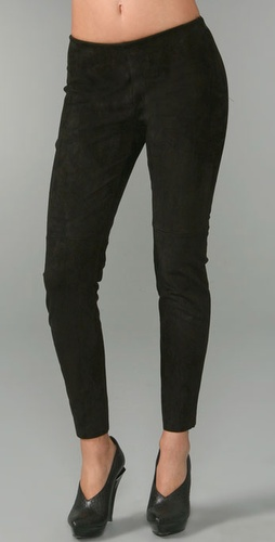 Illia Suede Leggings