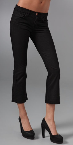 J Brand Gigi Cropped Flare Jeans