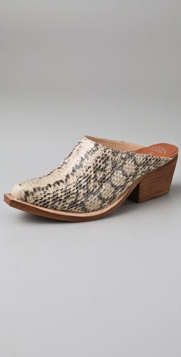 Jeffrey Campbell Stop Python Print Mules
