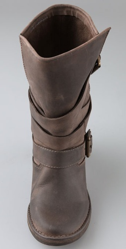 Jeffrey Campbell France Wrap Strap Boots - Stylehive