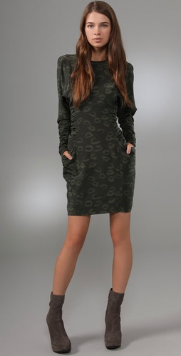 Jill Stuart Maryna Leopard Dress
