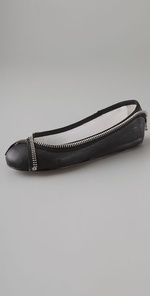 Joe's Jeans Stella Zipper Flats