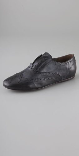 Joie Louie Louie Wingtip Flats Without La