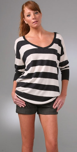 Joie Chyanne Rugby Stripe Sweater