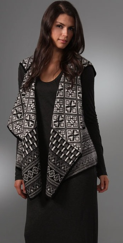 Joie Cleopatra Fair Isle Vest