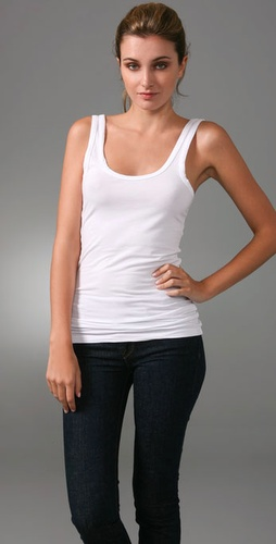 James Perse Brushed Jersey Tank