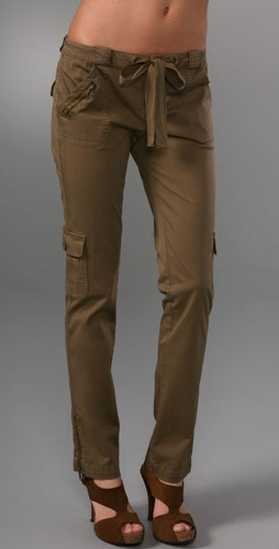 Juicy Couture Slim Cargo Pants from shopbop.com