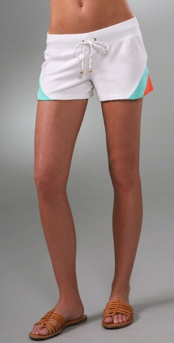 Juicy Couture Colorblock Terry Shorts