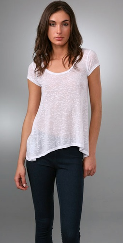 Juicy Couture Burnout Trapeze Tee